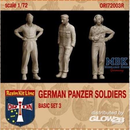 German Panzer Soldiers, Basic Set #3
