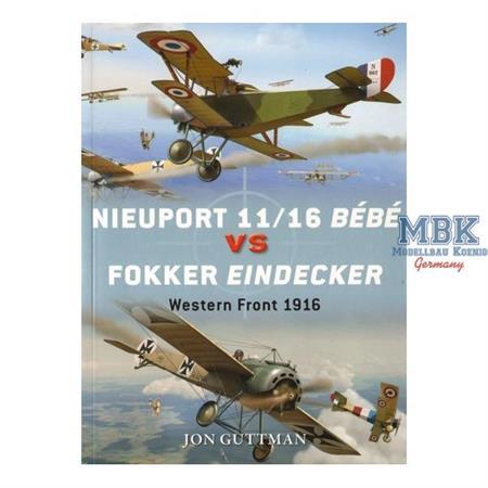 Nieuport 11/16 Bébé vs Fokker Eindecker