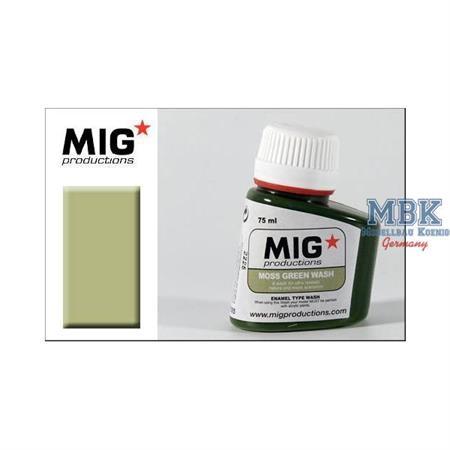 P305 Moss Green Wash