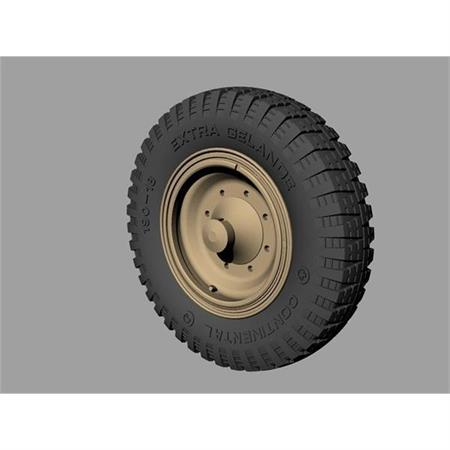Drive Wheels for Sd.Kfz 11 & 251 (Pattern A)