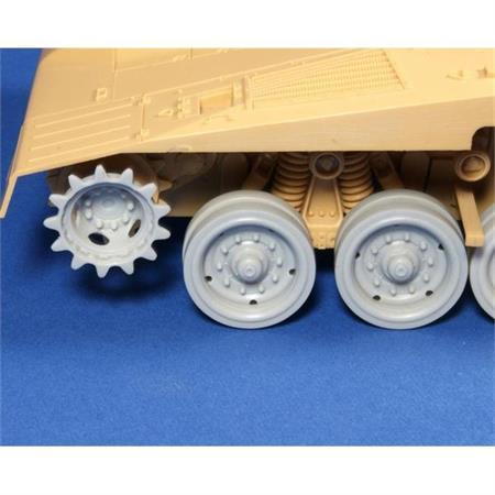 Merkava IV wheels