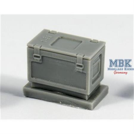 British ammo boxes for 0,303 ammo (metal pattern)