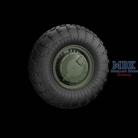 BTR-70 Road wheels