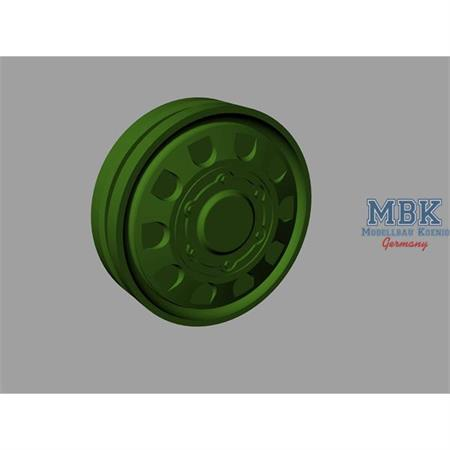 T-64 MBT Road wheels