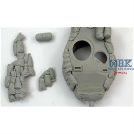 "M-41 ""Walker Bulldog"" with sandbags armor"