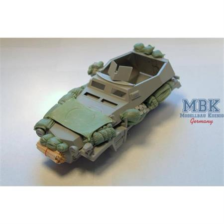 Stowage set for Sd.Kfz 250 Alt