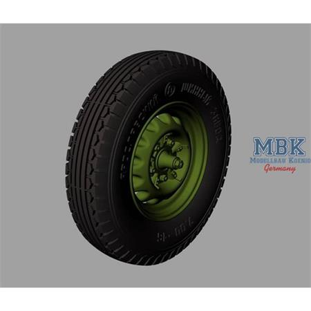 BA-20 Road wheels (Jaroslavskij Zavod No2)