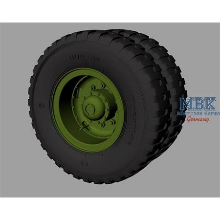 M54 Road wheels (Firestone combat pattern)