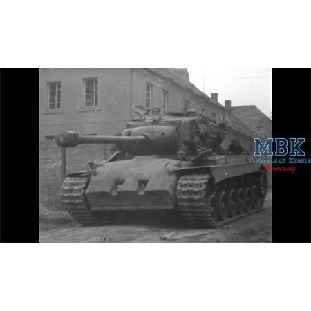 "M26 ""Pershing"" concrete armor"