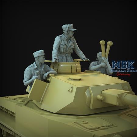 DAK turret crew Set (Pz.III/IV)