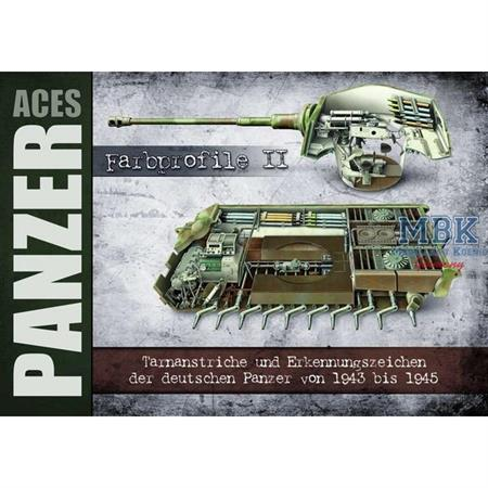 Panzer Aces Farbprofile II DEUTSCH 1943-45