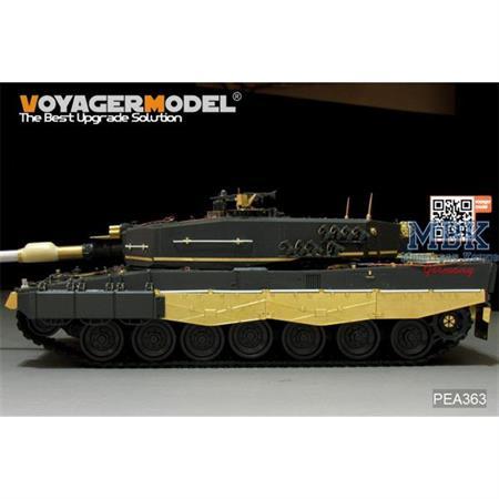 German Leopard 2A4 Schürzen (meng TS-016)