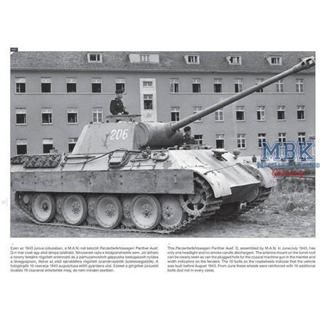 Panther on the Battlefield - WW2 Photobook Vol.6