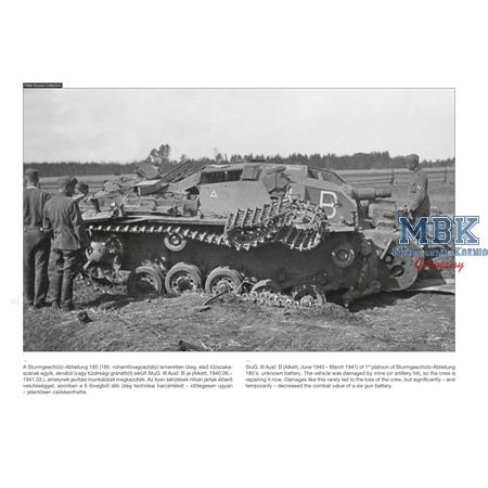 Sturmgeschütz III on the battlefield #5