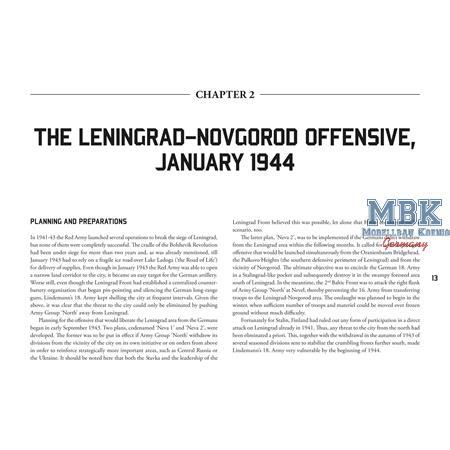 From Leningrad to Narva - January - September 1944
