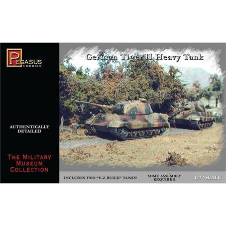 German Tiger II (Königstiger) Tanks (2)
