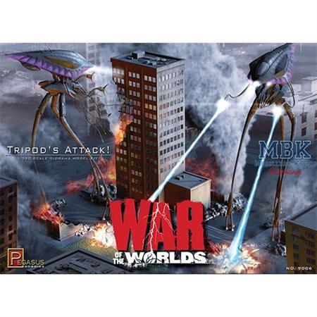 Tripods Attack Diorama Kit (Krieg der Welten)