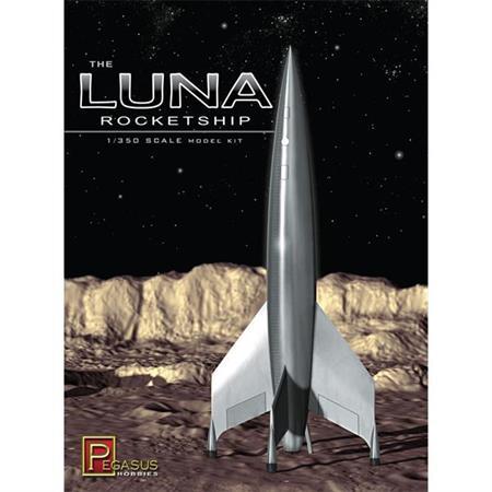 Luna Rocketship (1:350)