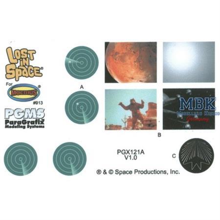 Jupiter 2 Photoetch & Decal Set