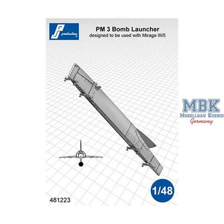 PM 3 Bomb Launcher for Mirage III/5