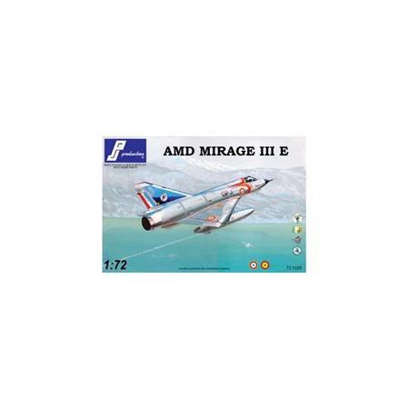 """Mirage III E """"French, Spain"""" - Plastikbausatz"""
