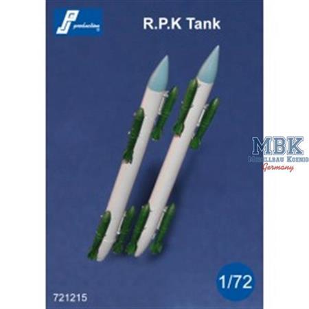 RPK Tanks + 8 SAMP bombs