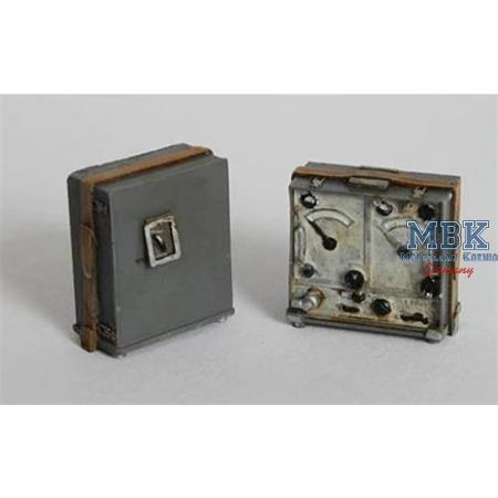 German wireless station - WWII Torn. Fu.b1