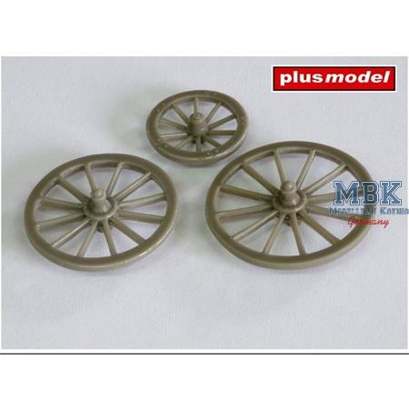 Speichenräder / Spoke Wheels 1/35