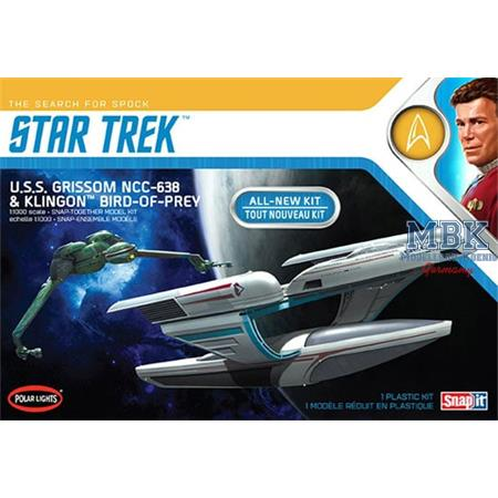 Star Trek U.S.S. Grissom & Klingon Bird-of-Prey