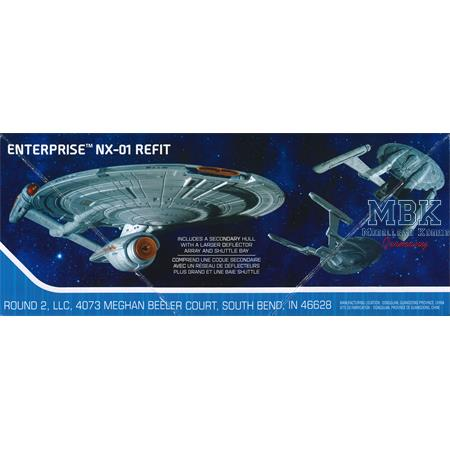 Star Trek NX-01 Enterprise Snap-Kit ( Refit-Vers.)