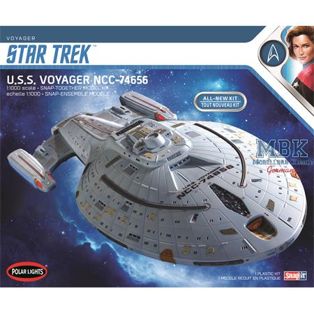 STAR TREK U.S.S. VOYAGER (SNAP) 1:1000