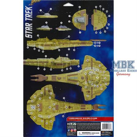 Cardassian Galor-Class Paneling Decals