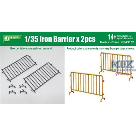 Iron Barrier 2pcs