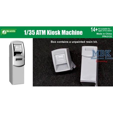 Wall trough ATM Machine