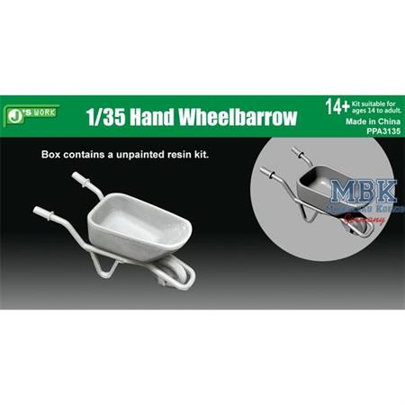 Hand Wheelbarrow / Schubkarre 1/35