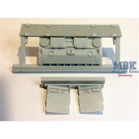 Leopard 2A4 M CAN Heckplatte