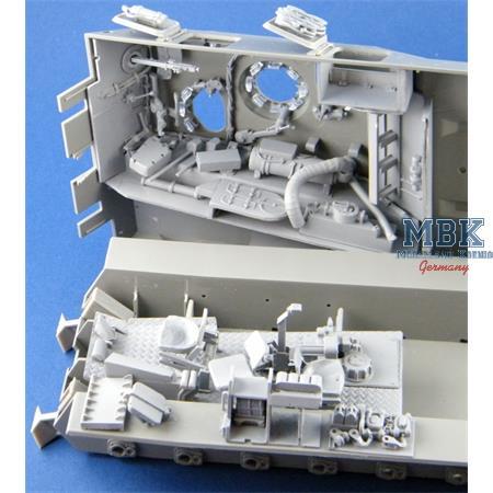 Inneneinrichtung Bergepanzer 2 Standard