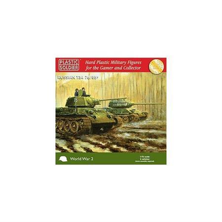 Easy Assembly T-34/76 & /85 - 3 Stück