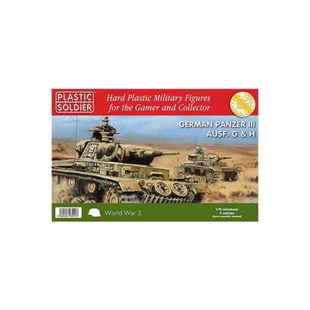 Easy Assembly Panzer III G, H