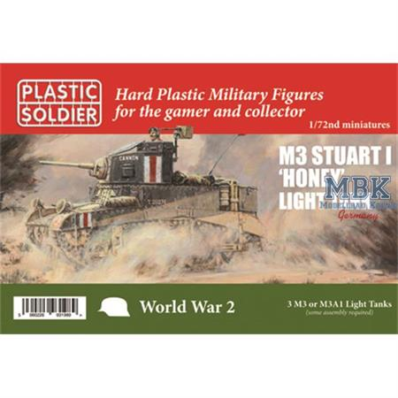 Allied Stuart I Honey and M3 tank