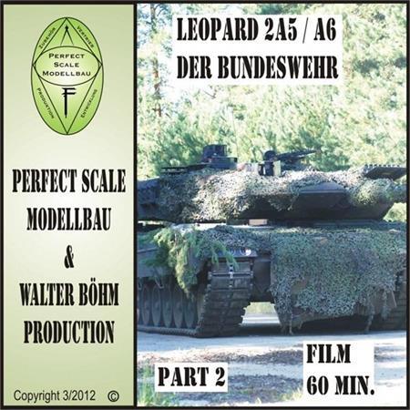 DVD Leopard 2 A5 / A6 in Deutschland Teil 2