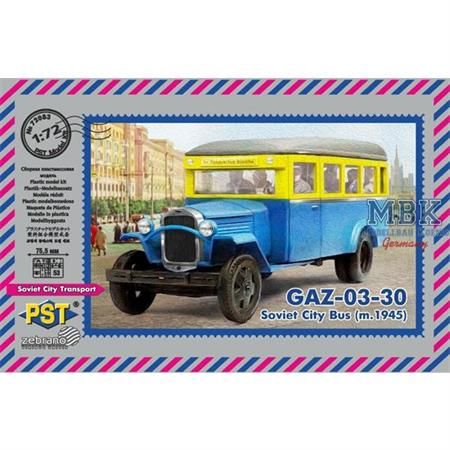 Gaz-03-30 Soviet City bus (m.1945)