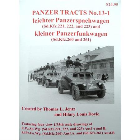 le.Pz.Spähwagen Sd.Kfz.221, 222, 223, 260 & 261