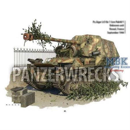 Panzerwrecks #21 - Mängelexemplar