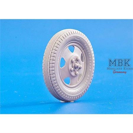 Wheels for Zis-2/3, KP-42, Limber