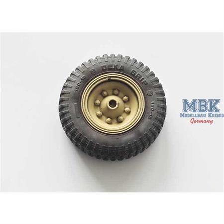 Sd.Kfz.251 front wheels (DEKA GRIP)