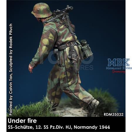 Under fire Normandy - 12. SS Pz Div HJ MG Schütze