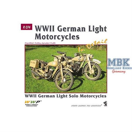 Red Line Band 74 WWII German Light Motorcycles