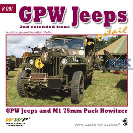Red Line GPW Jeeps + M1 Howitzer in Detail
