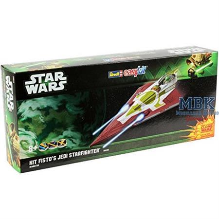 """Kit Fisto's Jedi Starfighter """"Easy Kit"""" 1:39"""